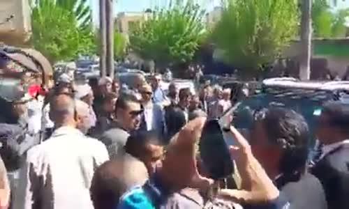 رشيد نكاز يصيح على وفد شكيب خليل اين العدالة الجزائرية