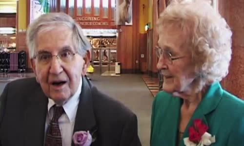 Cute Elderly Couple Tells It Like It Is