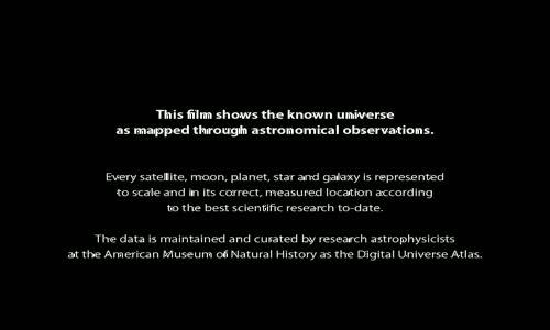 الكون الغير معروف فيديو توضيحي  الانتقال من الارض الى ابعد نقطة تم اكتشافها مذهل