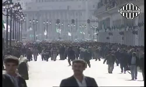 مظاهرة لقوى المعارضة احتجاجا على تزوير الإنتخابات 27-10-1997