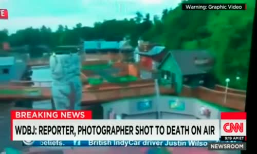 Moment Virginia Reporter and Camera Man Killed On Live TV (RAW VIDEO)