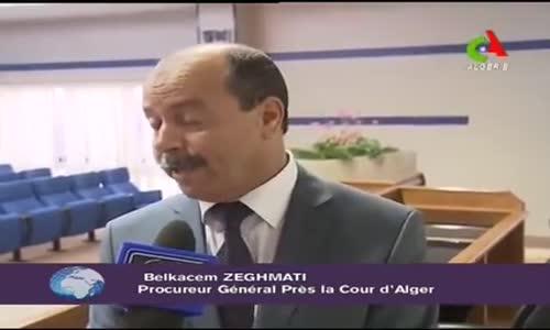المدعي العام بلقاسم زغماتي أتحدث عن مذكرة توقيف ضد شكيب خليل 2013