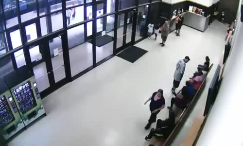 Man Dies In Dallas County Jail Lobby Full Video