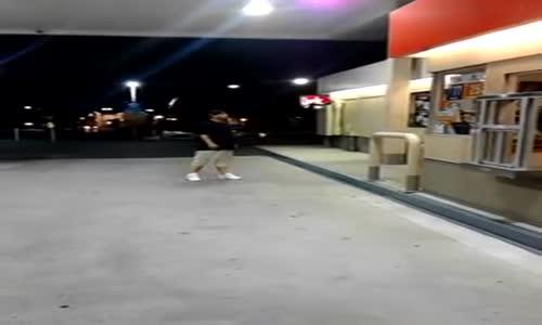 Gas Station Tough Guy