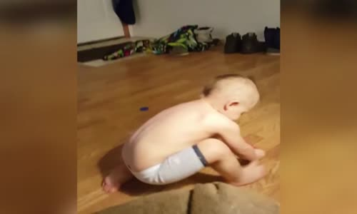Cute Kid Creates Sudsy Slip And Slide