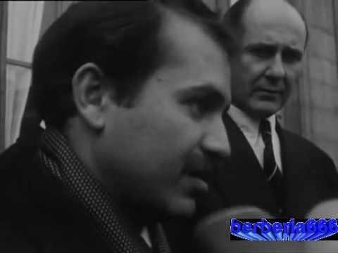 Le jeune Abdelaziz Bouteflika reçu par de Gaulle pour une mission top secret (1964)