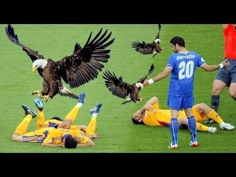 لقطات طريفة جدا لمحاولات فاشلة في كرة القدم(1)