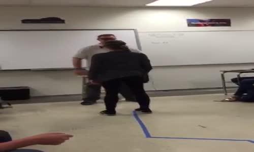 Girl Testing 'Drunk Goggles' Slaps Her Teacher in the Face.