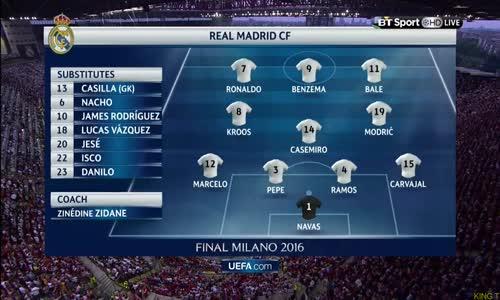 ملخص مباراة ريال مدريد واتلتيكو مدريد نهائي دوري الابطال HD