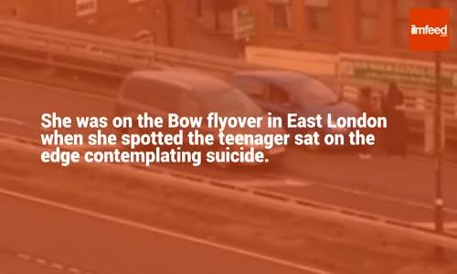 Muslim Woman Saves Suicidal London Teen