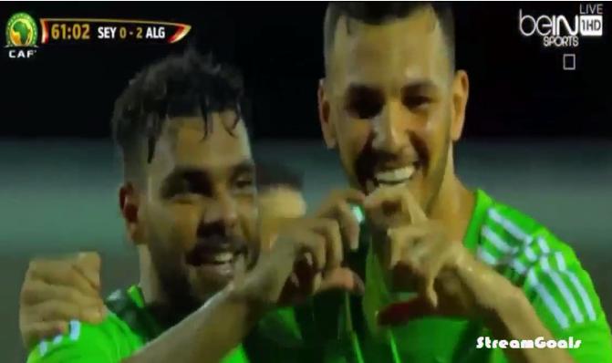 أهداف الجزائر 2-0 السيشل - Algérie 2-0 Sichel - تعليق حفيظ دراجي HD