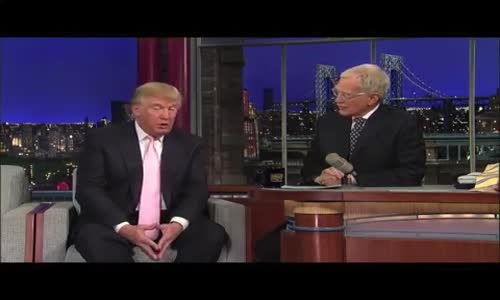 David Letterman Destroys Donald Trump
