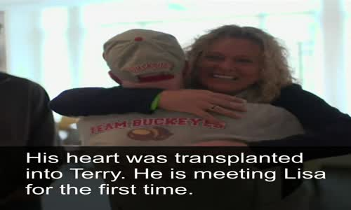 Lisa's son, Levi, died in a car accident in 2012, but she can now hear his heartbeat.