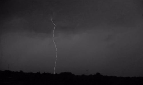 Lightning in slow motion