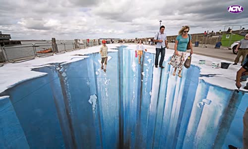 Crazy Funny Optical illusions The Best 3D Art