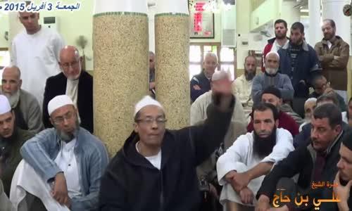 اول من حذر من الشيعة وضلالاتهم   شخص قال لي _الخميني يجري في دمي.! قلت_دمك فاسد غيره