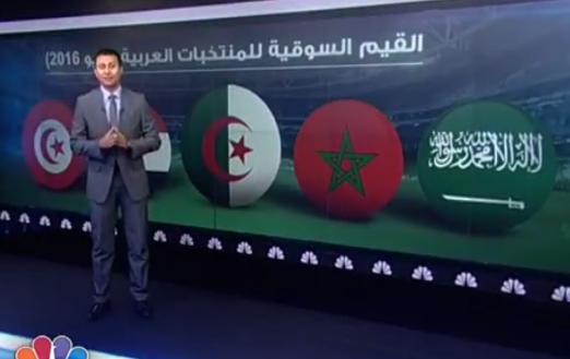اغلى المنتخبات العربية لكرة القدم مجموع القيمة السوقية للاعبين شاهد الخمسة الاغلى
