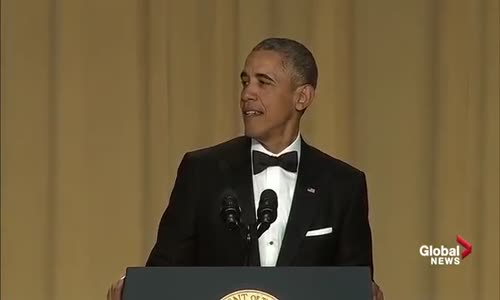 President Barack Obamas hilarious final White House correspondents dinner speech