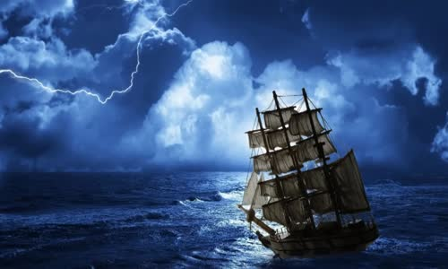 Mysterious Ghost Ships