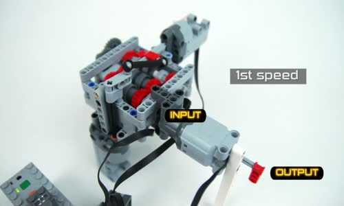 Lego Technic 6-Speed RC Servo Transmission