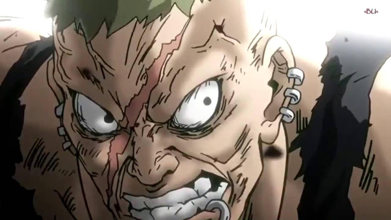 قتال انمي موب رائع كاغياما ضد  كوياما رجل عجوز