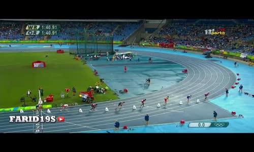 توفيق مخلوفي يفوز بالميدالية الفضية في سباق 800 متر Toufik Makhloufi