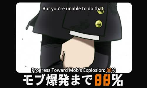 Mob explodes 100% vs Dimple - Full Fight _ Mob Psycho 100
