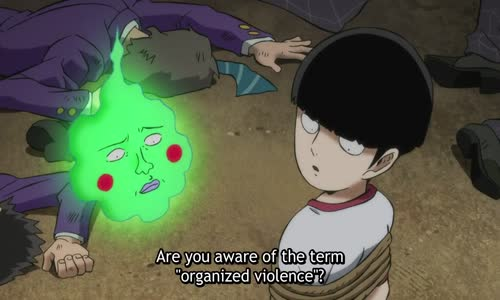 Teru vs Body Improvement Club & Tenga _ Mob Psycho 100 Ep 4