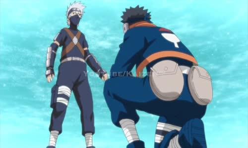 Obito gives Kakashi his Sharingan -(English Sub - Scene HD)