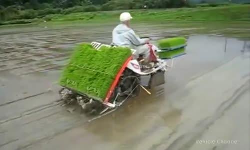 الات زراعية متطورة رائعة في اسيا