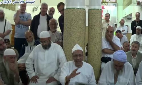 الشيخ علي بن حاج _الرئيس لا يستطيع حتى مسح فمه.! فكيف يديرالبلد