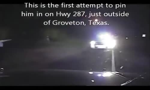 Dash And BodyCams Capture Wild Police Chase Texas