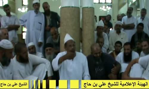 الشيخ علي بن حاج يجر الشرطة إلى شاطئ البحر