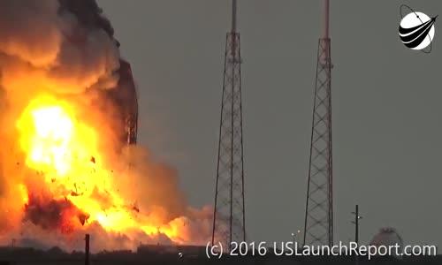 SpaceX    انفجار القمر الصناعي التابع لفيسبوك