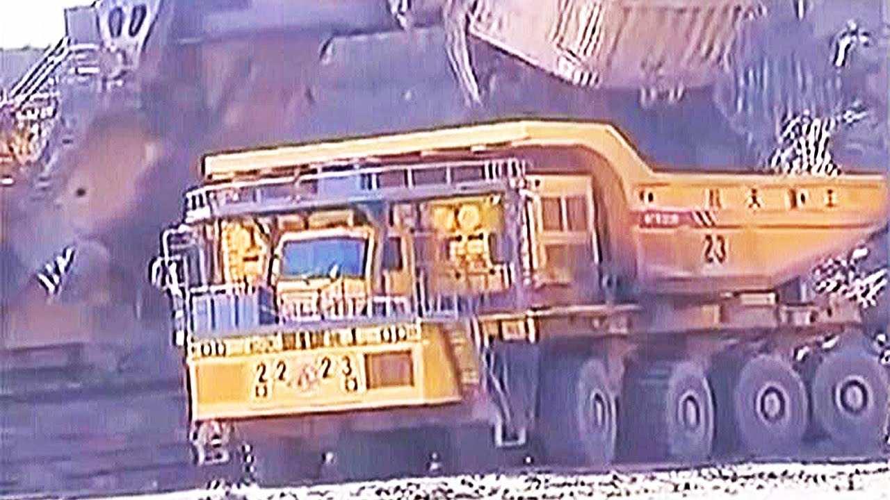 Sanjiang WTW220E شاحنة التعدين بـ 16 عجلة
