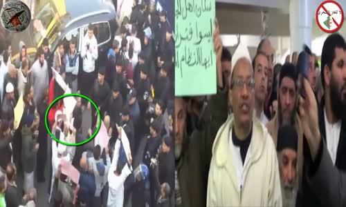 كلمة الشيخ علي بن حاج وقمع مسيرة لا للغاز الصخري