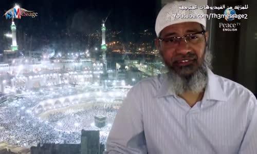 هل الدكتور ذاكر يقول للمسلمين ان يكونوا ارهابيين ؟  - ذاكر نايك Zakir Naik