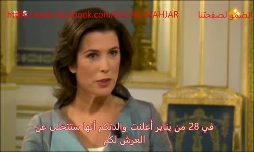 لقاء صحفي مع ملك وملكة هولندا قارنه بلقاء صحفي مع ملك عربي