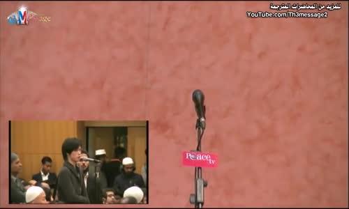 ياباني يسأل الدكتور ذاكر عن داعش  Zakir naik Talk about ISIS- ذاكر نايك Zakir Naik