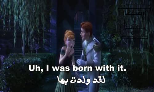 تعلم الانجليزية بطريقة التلقين السمعي من فيلم ملكة الثلج  17