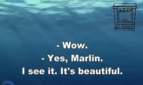 تعلم الانجليزية بطريقة التلقين السمعي من فيلم نيمو  1