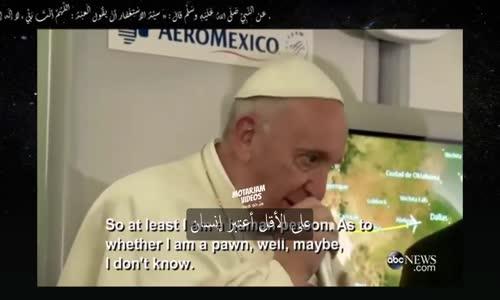 بابا الفاتيكان _ المرشح الرئاسي دونالد ترامب ليس مسيحياً _ (مترجم)