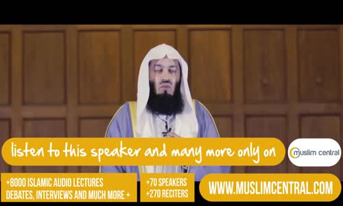We are All Struggling _ Mufti Menk