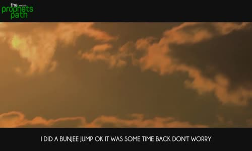 Bunjee Jumping  - #Funny - Mufti Menk