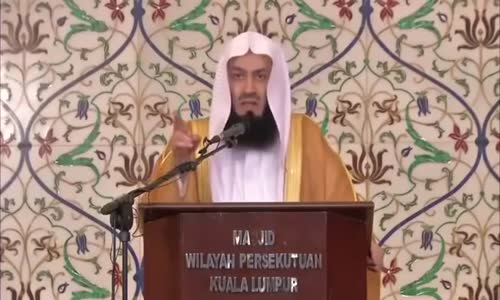 A Message to the Smokers  _  Mufti Menk