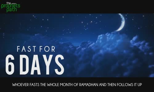 Fast For 6 Days _ Reward For Whole Year - Mufti Menk