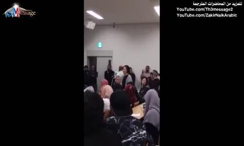 إسلام امرأة في اليابان على يد دكتور 2015