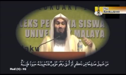Inspiring Reminder to Get Through Difficult Times - Mufti Menk