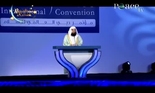 How to achieve true peace  By Mufti Menk, Dubai International Peace Convention Q&A
