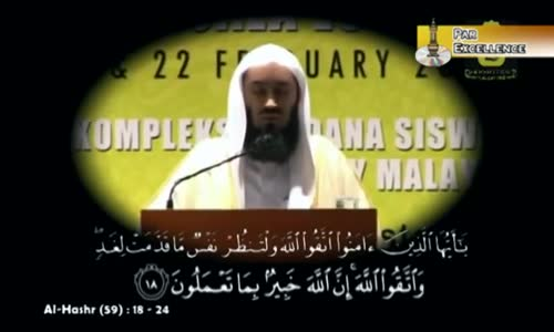 The Beautiful Recitation of Quran - Must Watch - Mufti Menk